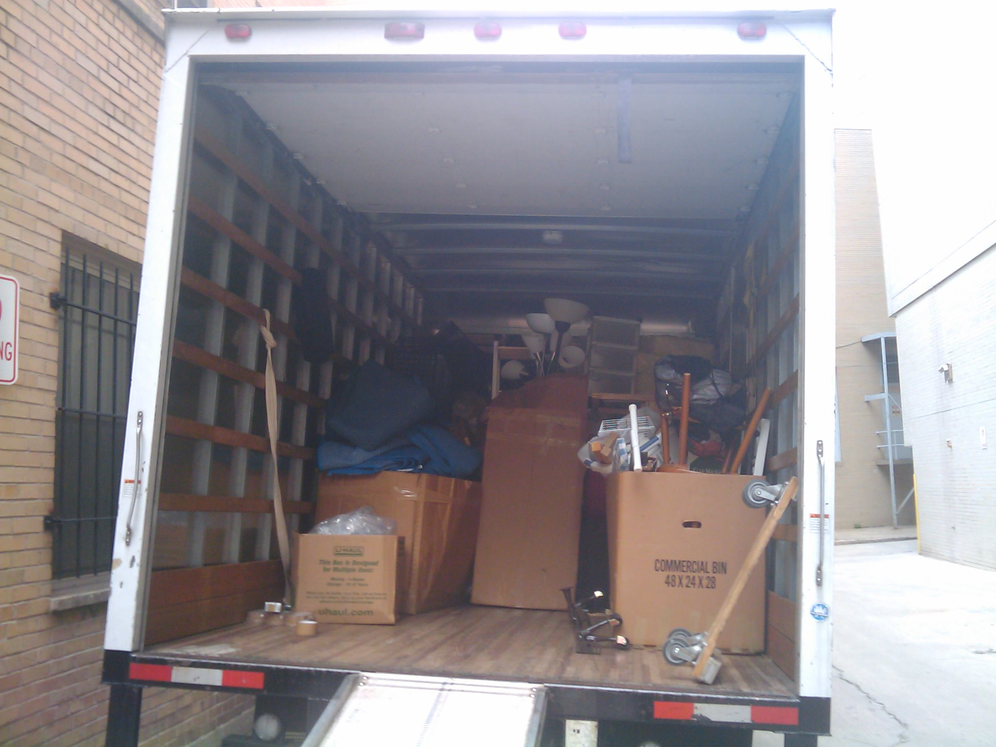 Reducing Stress on Moving Day