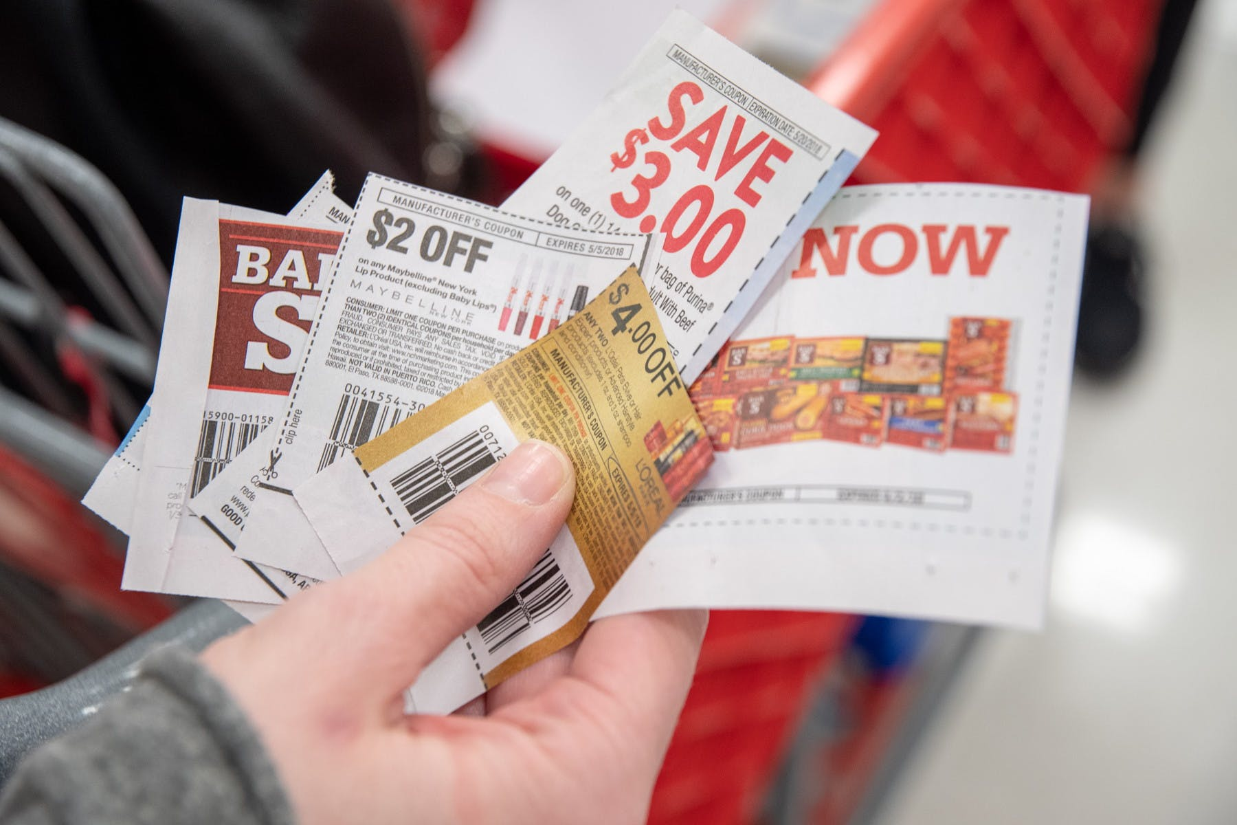coupons for food